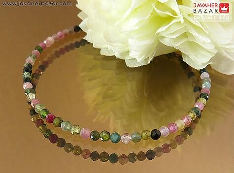 عکس دستبند تورمالین زنانه