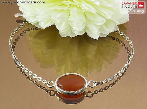 عکس دستبند عقیق یمن