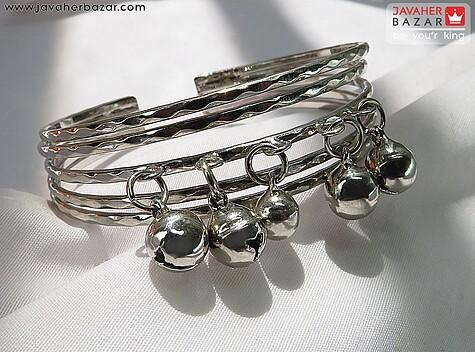 عکس دستبند استیل زنانه