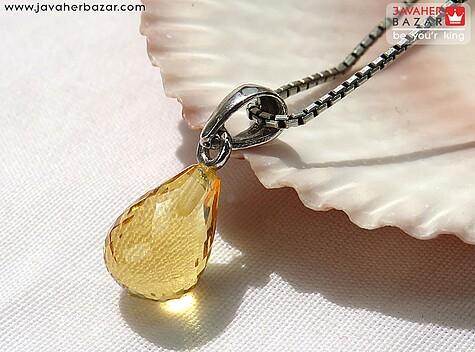 عکس مدال سیترین زرد