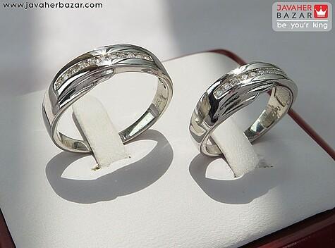 عکس حلقه ازدواج جواهری