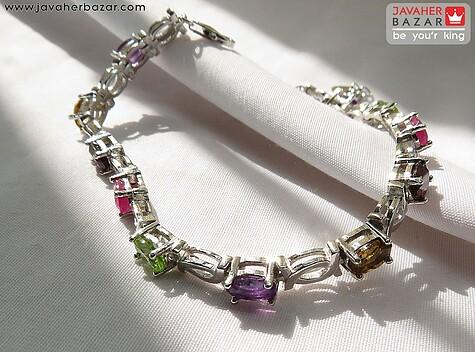 دستبند بنفش زنانه