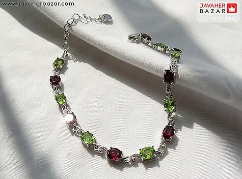 دستبند زبرجد سبز