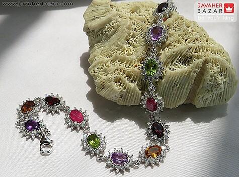 عکس دستبند سیترین زنانه