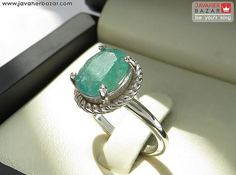انگشتر سبز زنانه