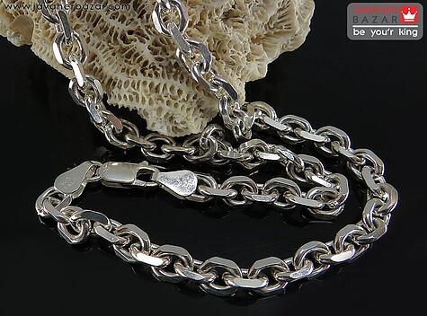 زنجیر نقره مردانه