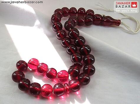تسبیح سندلوس قرمز 33 دانه