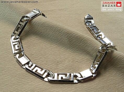 دستبند سفید مردانه