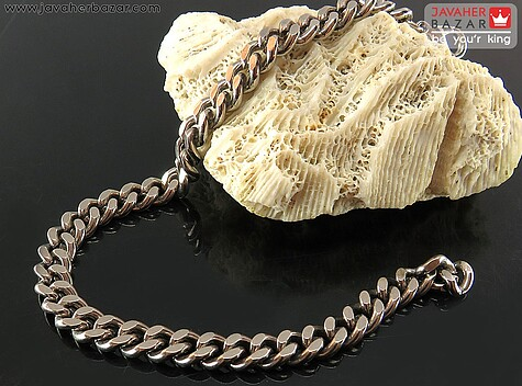عکس دستبند تیتانیوم مردانه