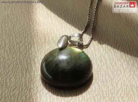 عکس مدال لابرادوریت سبز مردانه