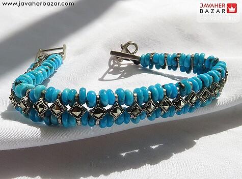 دستبند سنگ ماه تولد آبان