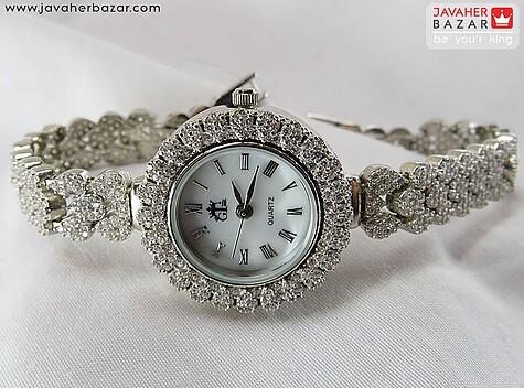 ساعت نقره زنانه