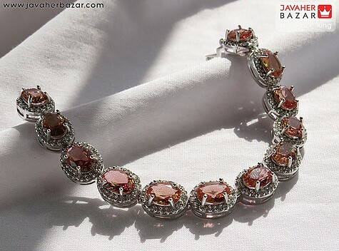 عکس دستبند الکساندریت (زولتنایت) زنانه
