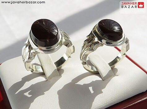انگشتر قهوهای زنانه