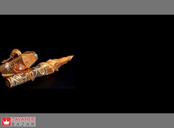 یکی از گرانقیمت ترین خودنویسهای جواهرنشان در دنیا