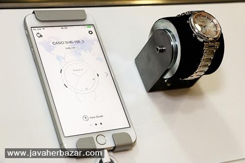 نمونه ای زیبا از ساعتهای هوشمند زنانه کاسیو